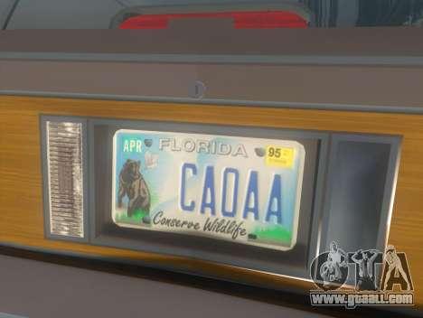 Oldsmobile Cutlass Ciera Cruiser for GTA San Andreas back view