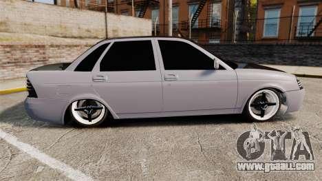 Vaz-2170 Lada Priora Turbo for GTA 4 left view