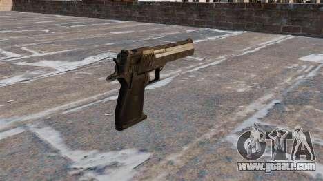 Desert Eagle Pistol MW3 for GTA 4 second screenshot