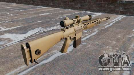 The M110 SASS sniper rifle for GTA 4 second screenshot