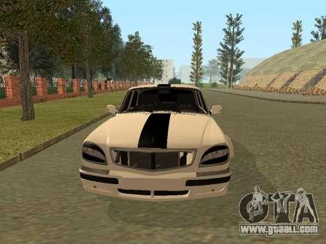 GAZ Volga 31105 for GTA San Andreas left view