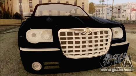 Chrysler 300C for GTA San Andreas back view