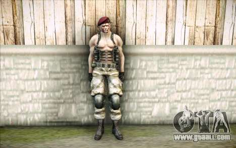 Jack Krauser Mercenary for GTA San Andreas