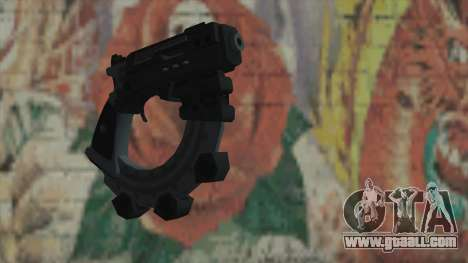 The gun from Timeshift for GTA San Andreas