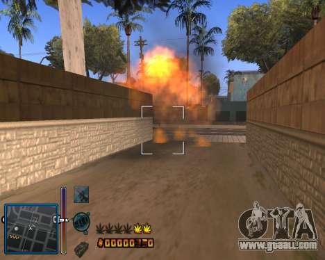C-HUD by Mike Renaissance for GTA San Andreas third screenshot