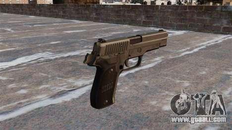 SIG-Sauer P226 Pistol for GTA 4 second screenshot
