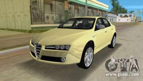 Alfa Romeo 159 ti for GTA Vice City