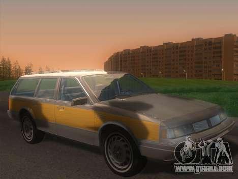 Oldsmobile Cutlass Ciera Cruiser for GTA San Andreas