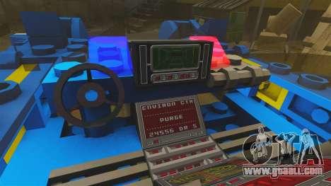 Lego Car Blade Runner Spinner [ELS] for GTA 4 back view