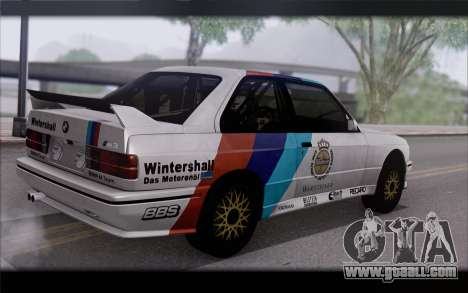 BMW M3 E30 Racing Version for GTA San Andreas left view