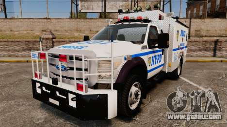 Ford F-550 2012 NYPD [ELS] for GTA 4