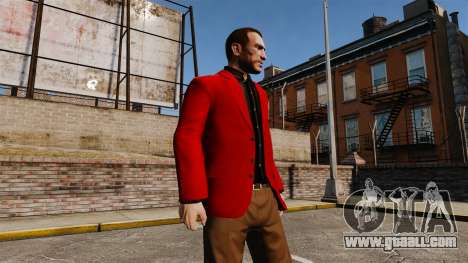 Red Jacket for GTA 4 third screenshot