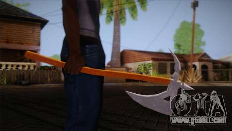 War axe of Assassins Creed Brotherhood for GTA San Andreas third screenshot