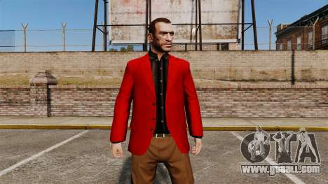 Red Jacket for GTA 4