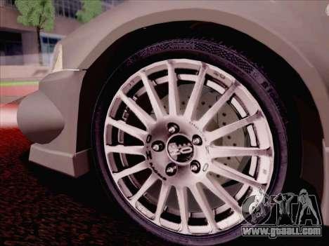 Mitsubishi Lancer Evolution VI LE for GTA San Andreas interior