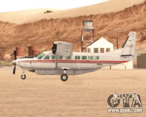 Cessna 208B Grand Caravan for GTA San Andreas left view