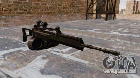 MG36 HK assault rifle for GTA 4