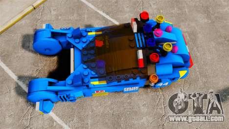 Lego Car Blade Runner Spinner [ELS] for GTA 4 right view