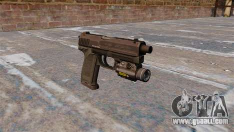 HK USP 45 pistol MW3 for GTA 4