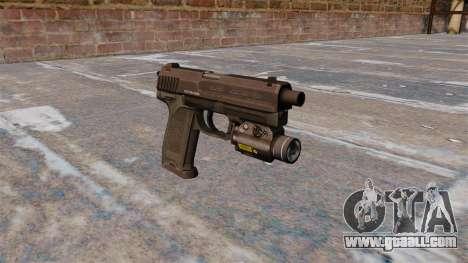 HK USP 45 pistol MW3 for GTA 4