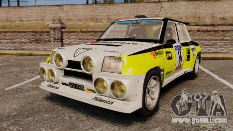 Renault 5 Turbo Maxi for GTA 4