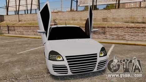 Vaz-2170 Lada Priora Turbo for GTA 4 bottom view