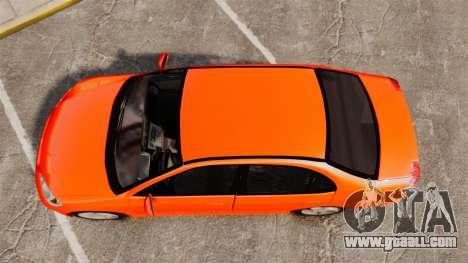 Honda Civic VTEC for GTA 4 right view