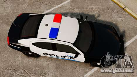 Dodge Charger 2010 Police [ELS] for GTA 4 right view