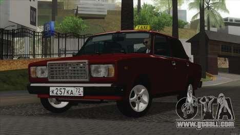 VAZ 2107 Bombilla for GTA San Andreas