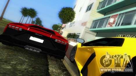 Lamborghini Aventador LP720-4 50th Anniversario for GTA Vice City side view