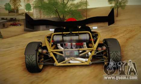 Ariel Atom 500 2012 V8 for GTA San Andreas right view