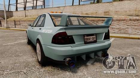 Sultan Race-Kit for GTA 4 back left view