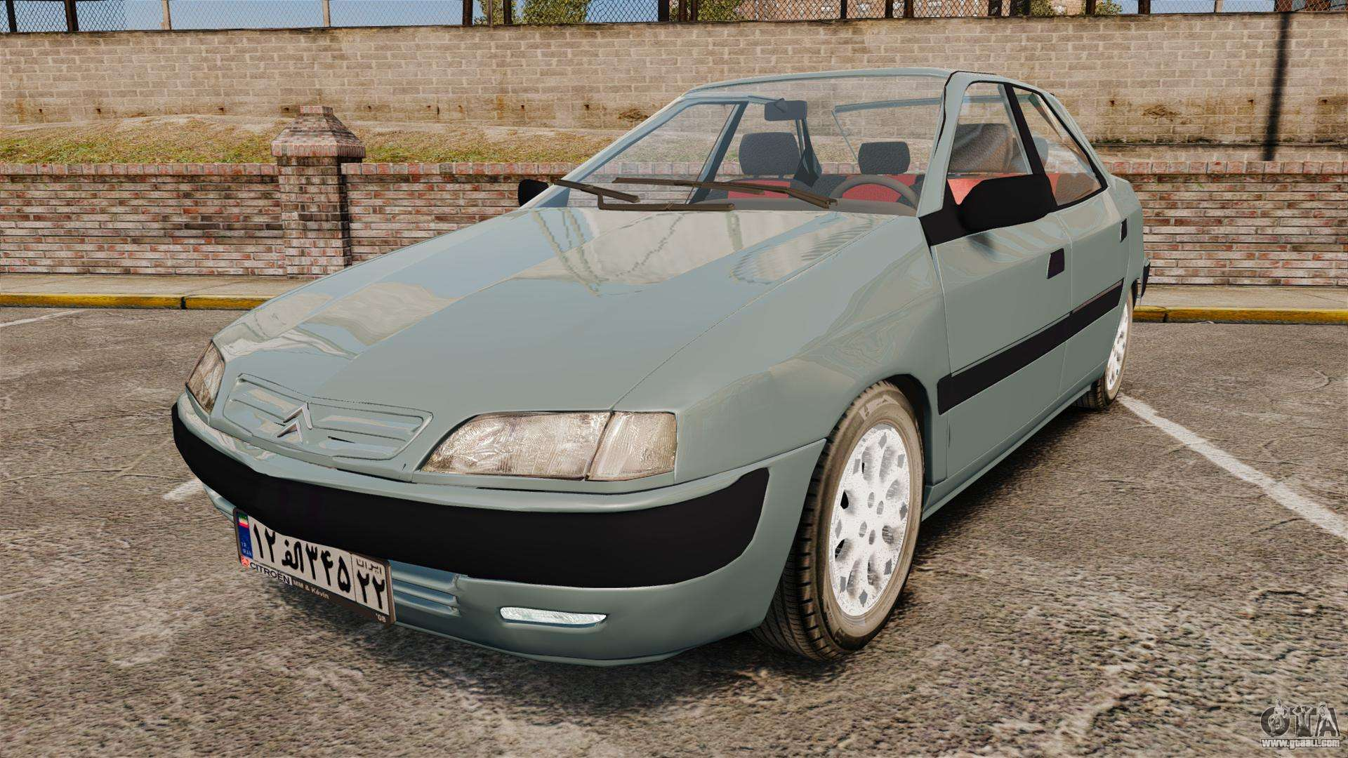 citroen xantia 1999 for gta 4. Black Bedroom Furniture Sets. Home Design Ideas