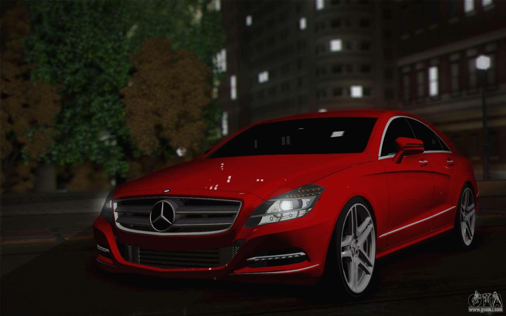 Mercedes benz cls 63 amg 2012 fixed for gta san andreas for Mercedes benz amg cls63