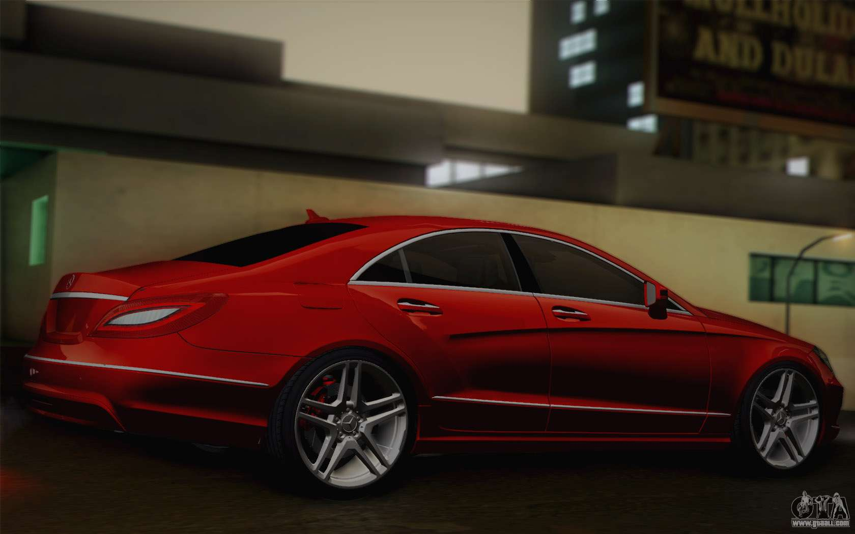 mercedes benz cls 63 amg 2012 fixed for gta san andreas. Black Bedroom Furniture Sets. Home Design Ideas