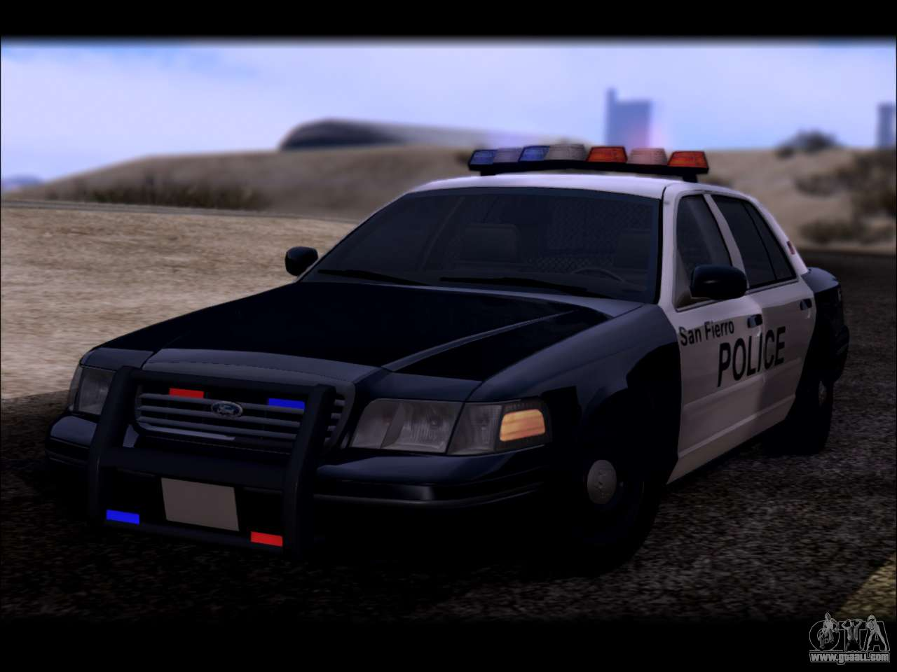 Ford Crown Victoria 2005 Police for GTA San Andreas Gta San Andreas Police Cars