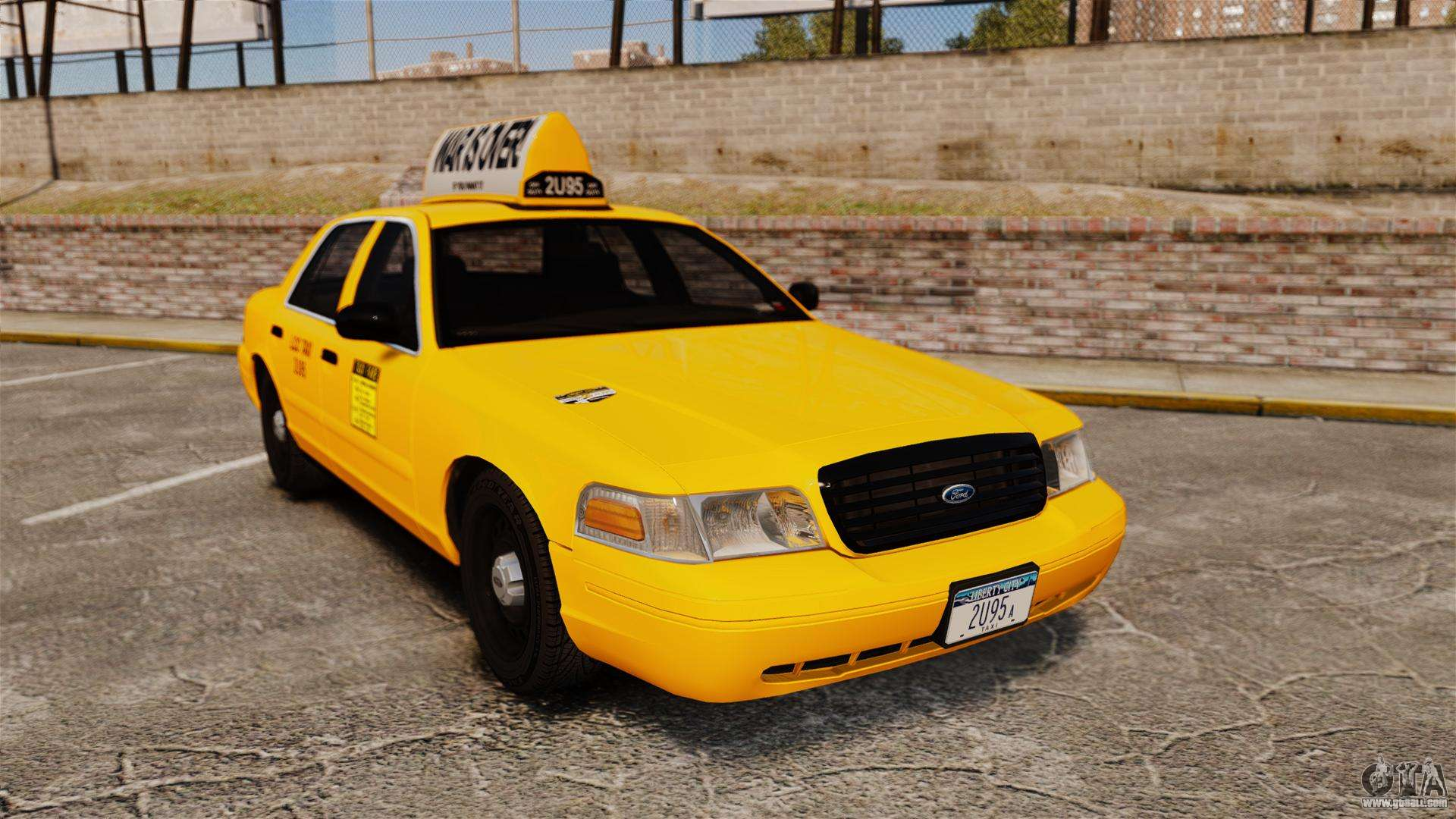 ford crown victoria 1999 lcc taxi for gta 4. Black Bedroom Furniture Sets. Home Design Ideas