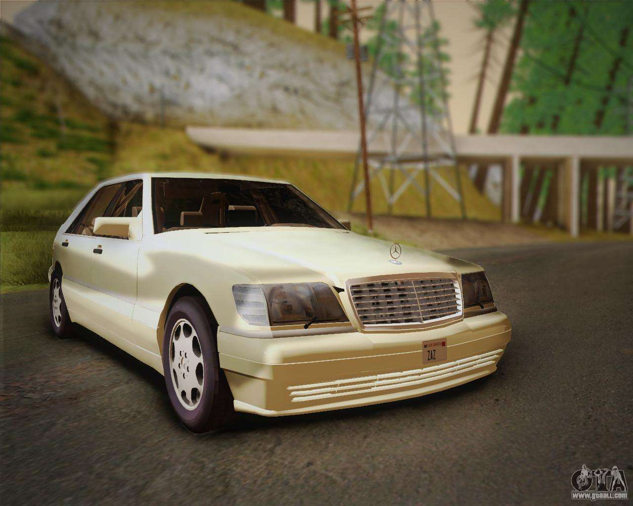 Mercedes benz s600 v12 custom for gta san andreas for V12 mercedes benz