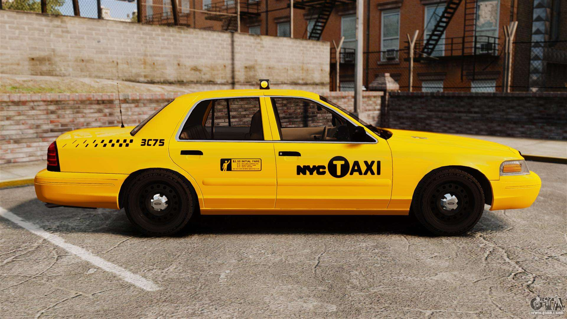 Ford Crown Victoria 1999 NYC Taxi for GTA 4