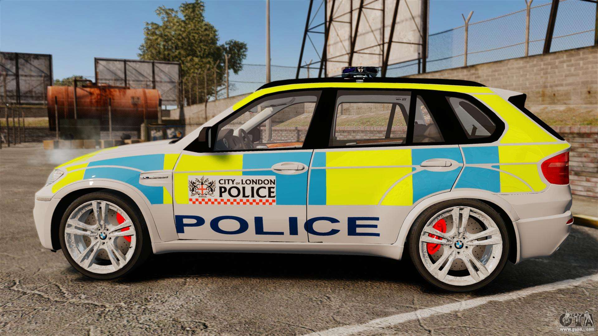 37794 Bmw X5 City Of London Police Els on oracle gta