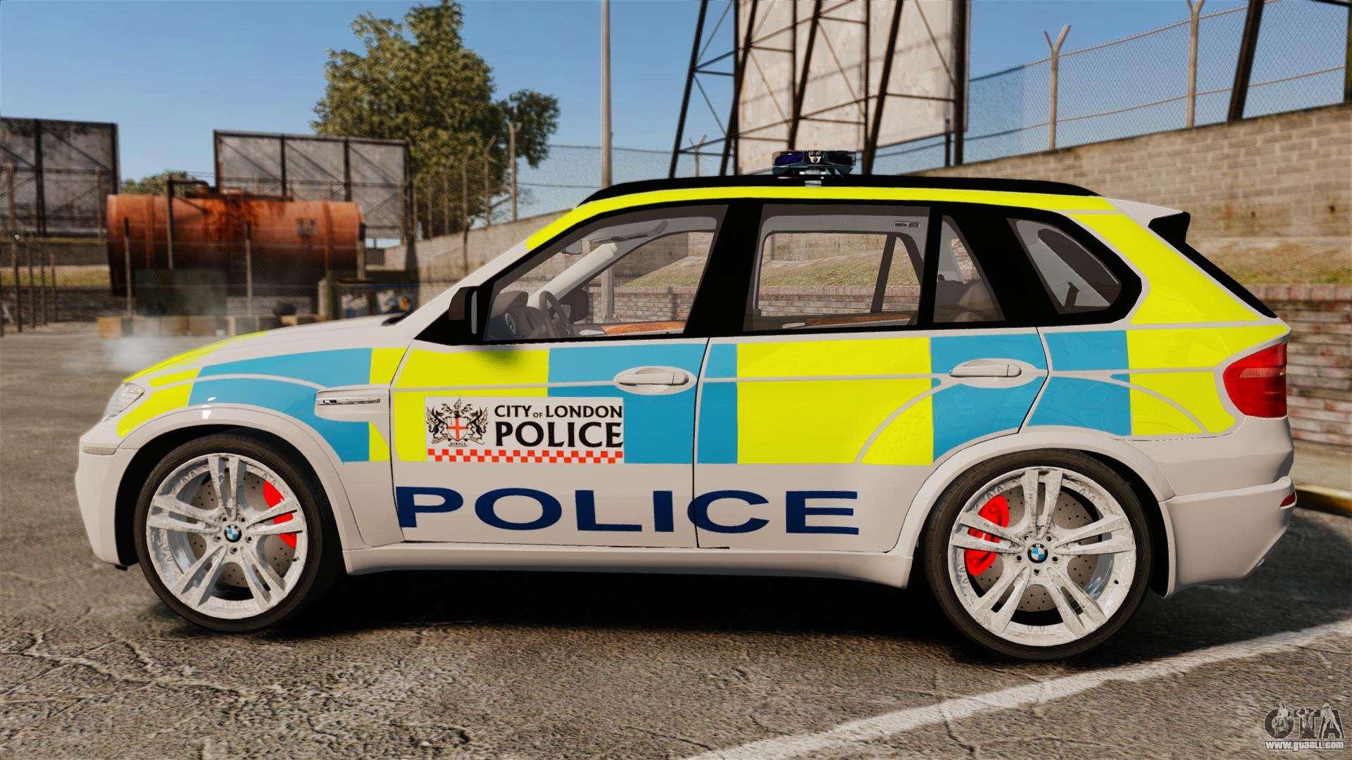 BMW X City Of London Police ELS For GTA - Gta 6 london map