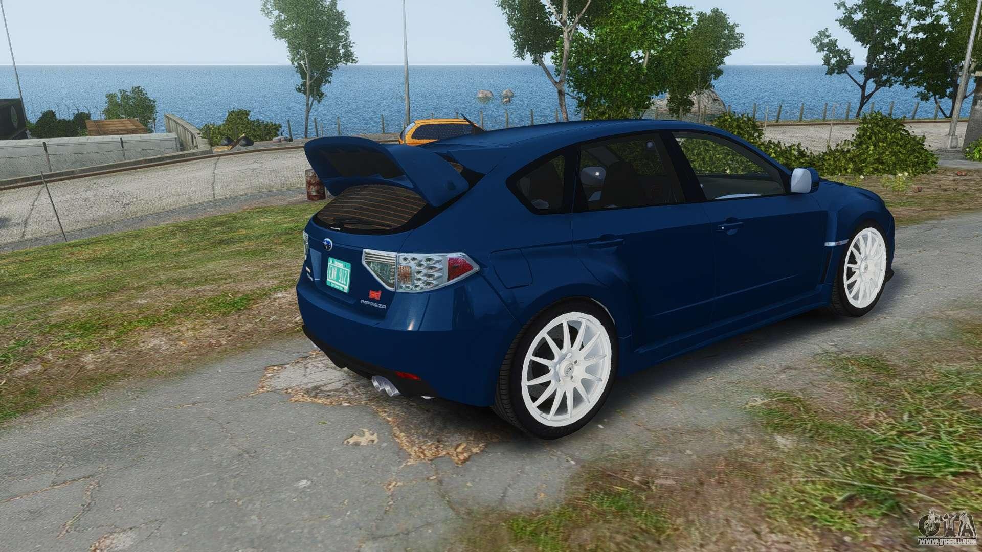 Wrx Sti 0 60 >> Subaru Impreza WRX STi 2010 for GTA 4
