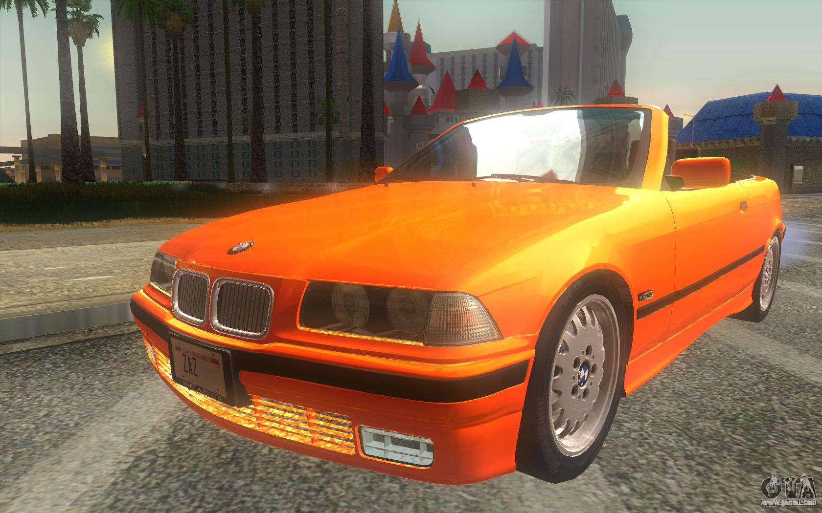 BMW 3.0 Csl >> BMW 325i E36 Convertible 1996 for GTA San Andreas