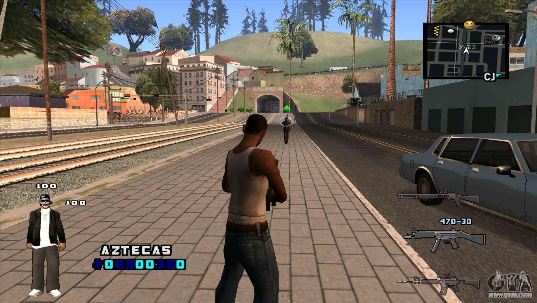 Моды. Версия CLEO. GTA San Andreas. Автор. Твитнуть.