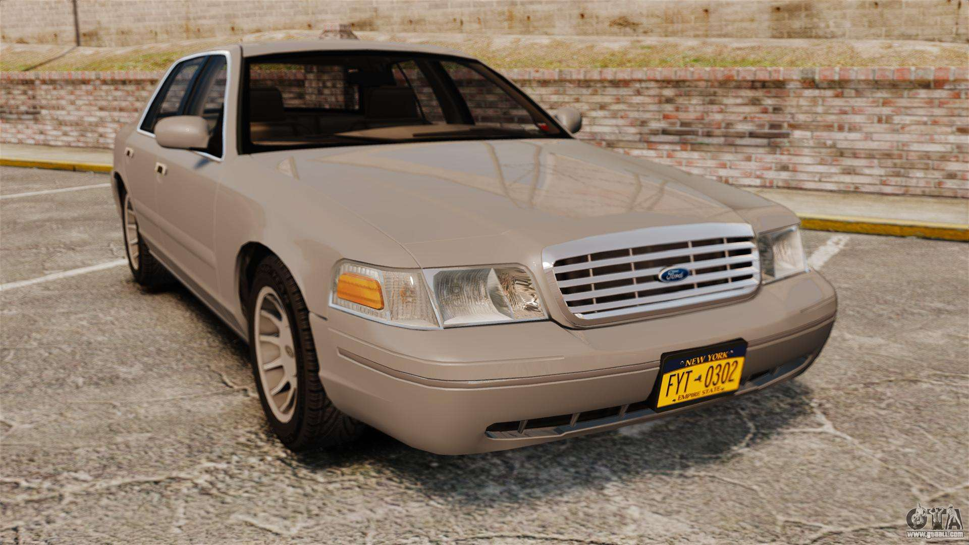 Ford Crown Victoria 1999 For Gta 4