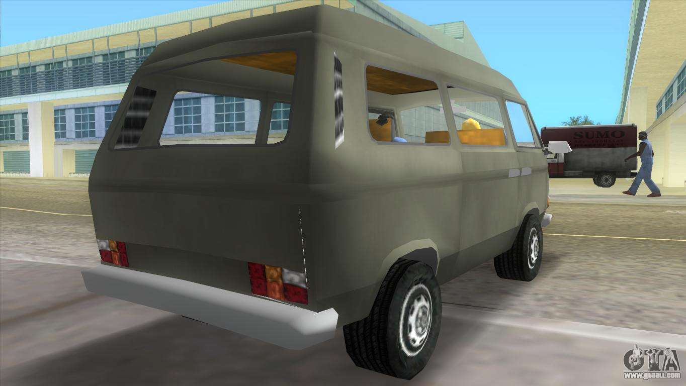 volkswagen transporter t3 for gta vice city. Black Bedroom Furniture Sets. Home Design Ideas
