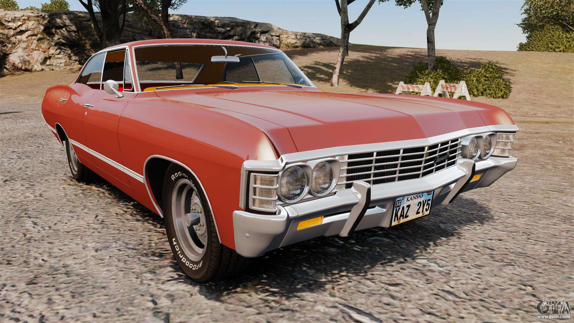 chevrolet impala 1967 for gta 4. Black Bedroom Furniture Sets. Home Design Ideas