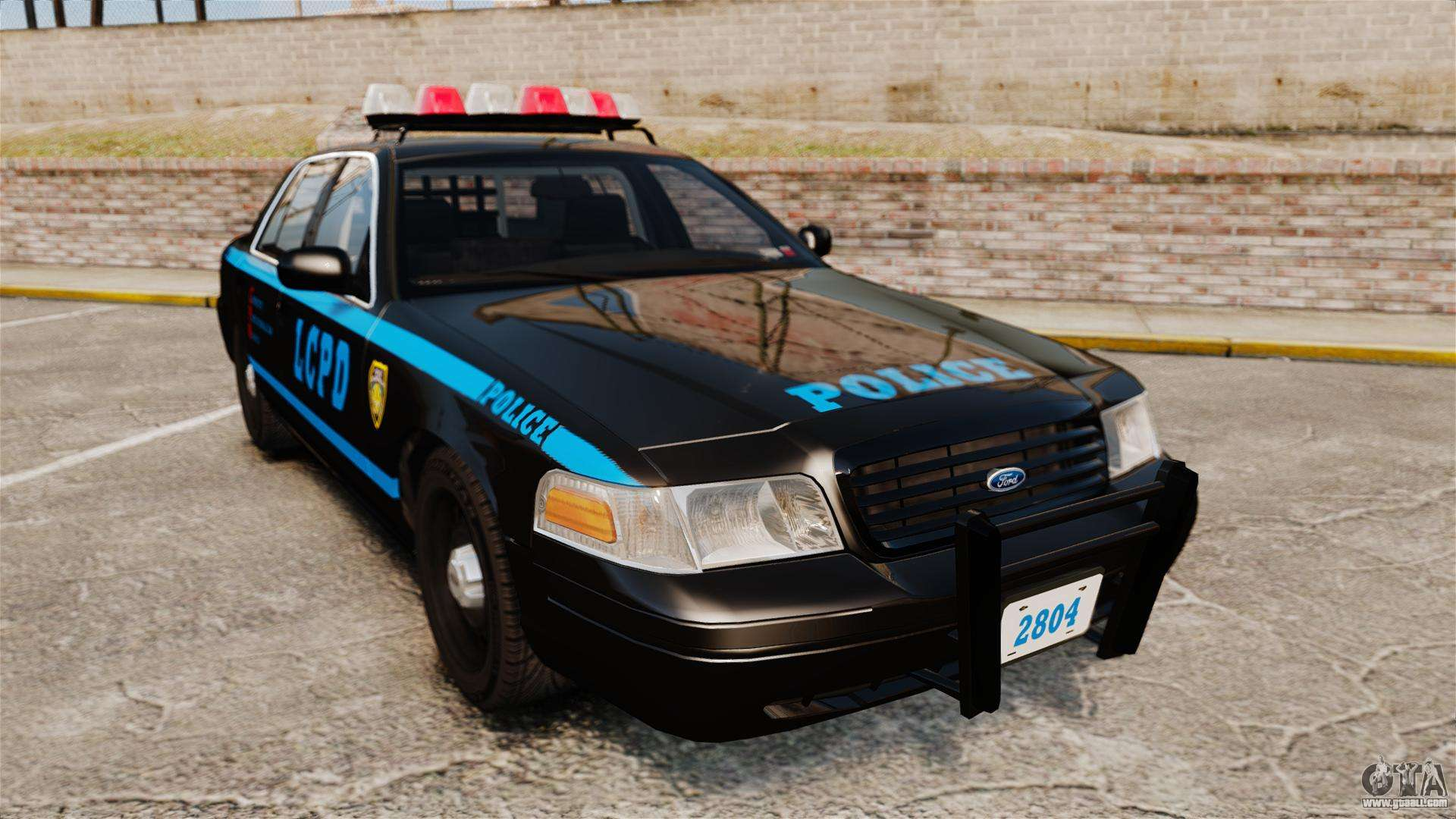 ford crown victoria 1999 lcpd for gta 4. Black Bedroom Furniture Sets. Home Design Ideas