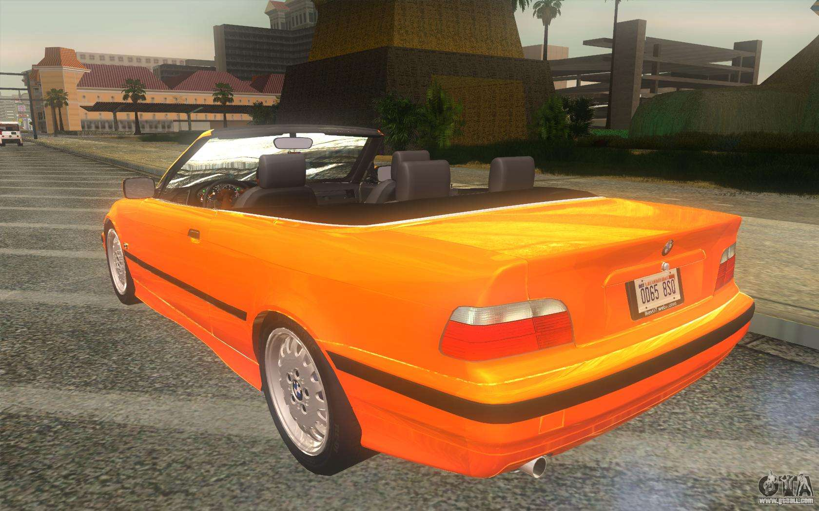 bmw 325i e36 convertible 1996 for gta san andreas. Black Bedroom Furniture Sets. Home Design Ideas