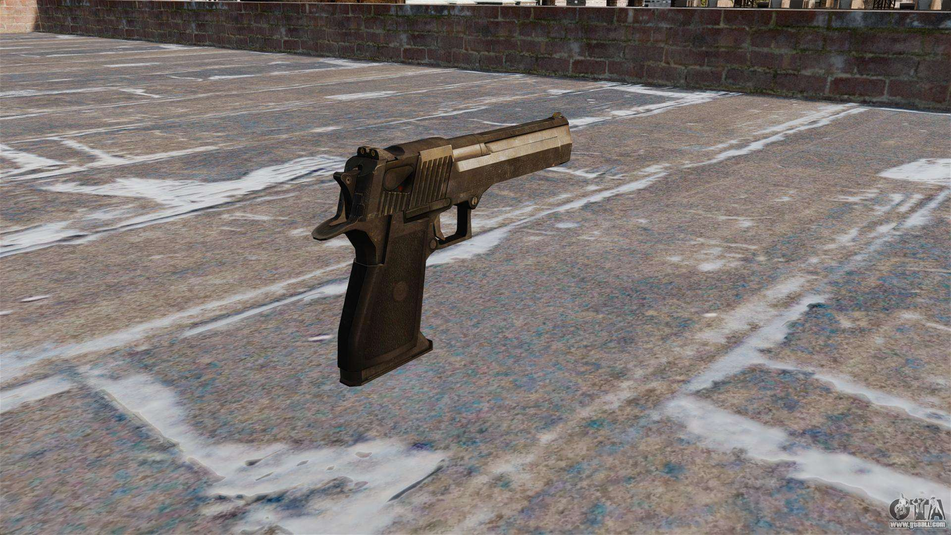 Desert Eagle Pistol MW3 for GTA 4